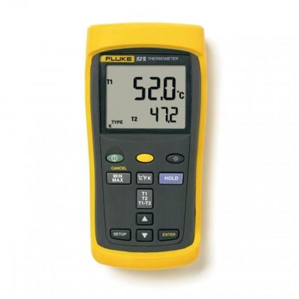 FLUKE 52 II - 50 Series II Digital ThermometerFLUKE 52 II - 50 Series II Digital ThermometerFLUKE 52 II - 50 Series II Digital T
