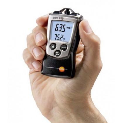 Testo 610 - humidité et de température pocket line - TESTO