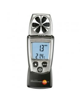 Testo 410-1 - anémomètre à hélice avec mesure de température pocket line - 0560 4101