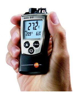 testo 810 - 2 channel IR thermometer - TESTO