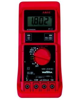 MX20HD - multimètre numérique durci pour environnement difficile - METRIX