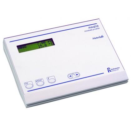 PHM210 - phmètre de laboratoire pH/°C/redox - électrodes de verre+référence - RADIOMETER TACUSSEL