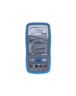 MX24CG - multimètre numérique 5000 points avec gaine antichoc - METRIX
