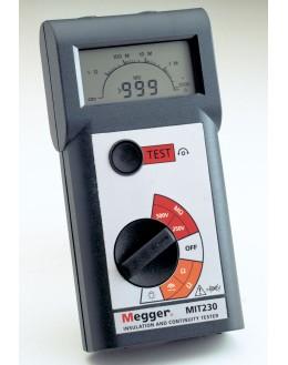 Mégommètre numérique 250 500V - Controleur d'isolement - MEGGER - MIT220 - mesureur d'isolement