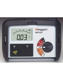 MIT320 - MegOhmMeter 250/500/1000V - MEGGERMIT320 - MegOhmMeter 250/500/1000V - MEGGERMIT320 - MegOhmMeter 250/500/1000V - MEGGE