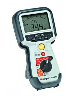 Contrôleur d'isolement et multimètre - 10/25/50/100/250/500V-fréq-Volt TRMS - MEGGER - MIT415/2 - 1006-738