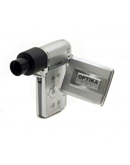 DIGI 12Mpixels digital camera set with optical adapt and Measuring software - OPTIKA