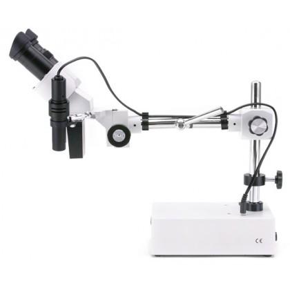 ST-50 Stéréomicroscope 20x, statif déporté
