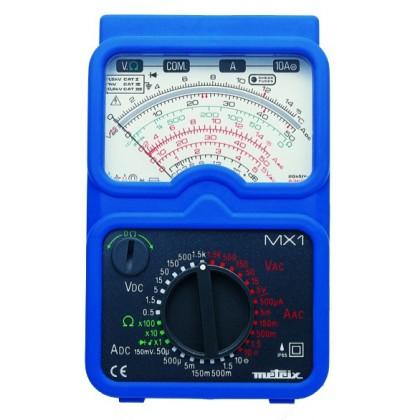 MX1 - Multimètre analogique en blister - METRIX