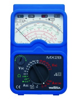 MX2B - Multimètre analogique portable avec pince MN09 - METRIX