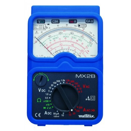 MX2B - Analog Multimeter with portable clamp MN09 - METRIXMX2B - Analog Multimeter with portable clamp MN09 - METRIXMX2B - Analo