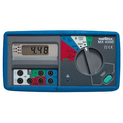 MX435DK - Contrôleur d'installation multifonction + kit de terre - METRIX