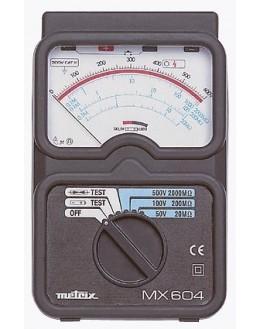 MX604 - Testeur de parafoudre et megohmètre - METRIX