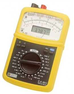 CA5011 - Analog Multimeter Digital - Chauvin ArnouxCA5011 - Analog Multimeter Digital - Chauvin ArnouxCA5011 - Analog Multimeter