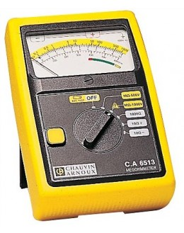 CA6513 - Insulation monitor analog - Chauvin ArnouxCA6513 - Insulation monitor analog - Chauvin ArnouxCA6513 - Insulation monito