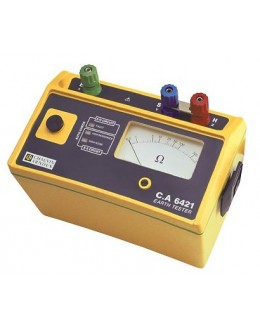 CA6421 - Earth tester - Chauvin ArnouxCA6421 - Earth tester - Chauvin ArnouxCA6421 - Earth tester - Chauvin Arnoux