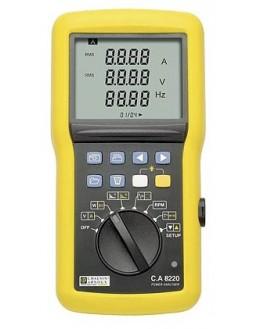 CA8220 (MN93A) - Analyseur de puissance et de qualité d'énergie - CHAUVIN ARNOUX
