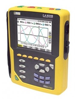 CA8334 B-F (pince AmpFLEX) - Analyseur de réseau et d'énergie triphasé - CHAUVIN ARNOUX