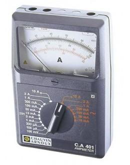 CA401 - Analog Ammeter - Chauvin ArnouxCA401 - Analog Ammeter - Chauvin ArnouxCA401 - Analog Ammeter - Chauvin Arnoux