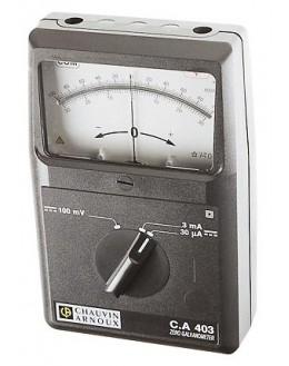 CA403 - Galvanometer zero - Chauvin ArnouxCA403 - Galvanometer zero - Chauvin ArnouxCA403 - Galvanometer zero - Chauvin Arnoux