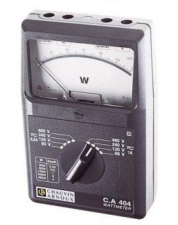 CA404 - Power Meter Single Phase AC / DC - Chauvin ArnouxCA404 - Power Meter Single Phase AC / DC - Chauvin ArnouxCA404 - Power
