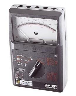 CA405 - Wattmètre mono- et triphasé AC/DC - CHAUVIN ARNOUX