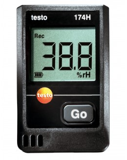 testo 174-H (° C /% RH) Mini-recorder temperature humidity - TESTO