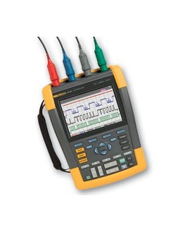 Fluke 190-104S - Color ScopeMeter (100 MHz, 4 channels) with SCC290 kitFluke 190-104S - Color ScopeMeter (100 MHz, 4 channels) w