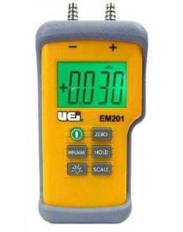 Manomètre / Déprimomètre différentiel numérique -150 mbars à +150 mbars - EM-201