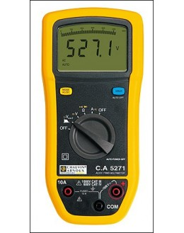 CA5271 - multimètre numérique - P01196771CA5271 - multimètre numérique - P01196771CA5271 - multimètre numérique - P0119677