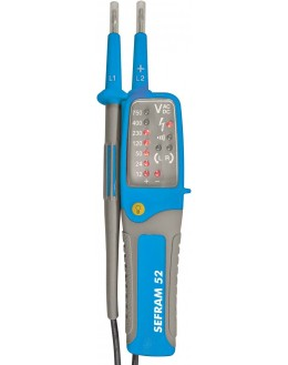 SEFRAM 52 - Détecteur de tension (DDT/VAT) à LED IP2X - VAT SEFRAMSEFRAM 52 - Détecteur de tension (DDT/VAT) à LED IP2X -