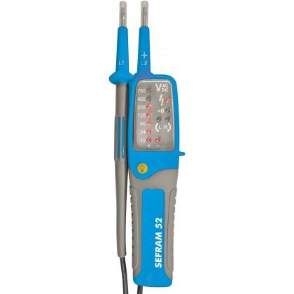 SEFRAM 52 - Détecteur de tension (DDT/VAT) à LED IP2X - VAT SEFRAM