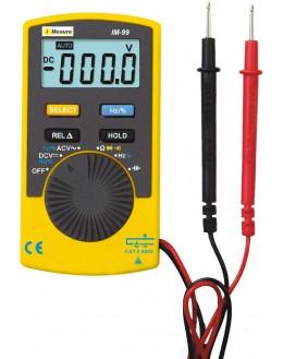 Multimetre de poche - IM99 - IMESUREMultimetre de poche - IM99 - IMESUREMultimetre de poche - IM99 - IMESURE