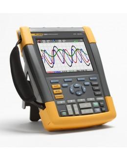 Fluke 190-204S - ScopeMeter Oscilloscope couleur 4x100MHz avec kit SCC290