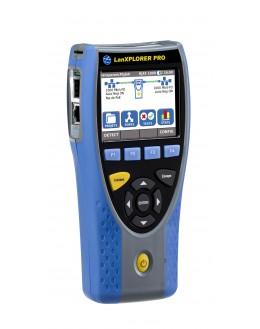 LanXPLORER PLUS - Analyseur de réseaux avec 1 interface RJ45 et WiFi - IDEAL NETWORKS