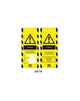 AP-479 - Affichette En service - CATU
