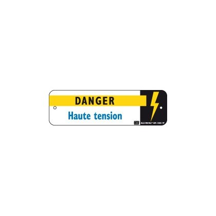 Am 132 2 affiche danger haute tension catu distrimesure for Haute tension definition