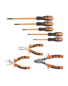 KIT-24 - Kit de 8 outils isolés bi-matière - CATU