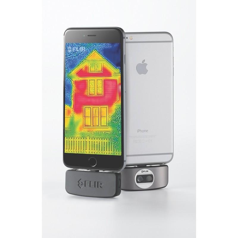 flir one cam ra thermique pour smartphone ios distrimesure. Black Bedroom Furniture Sets. Home Design Ideas