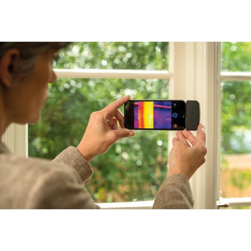 flir one cam ra thermique pour smartphone android distrimesure. Black Bedroom Furniture Sets. Home Design Ideas