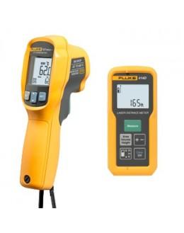 Kit thermomètre infrarouge et télémètre laser