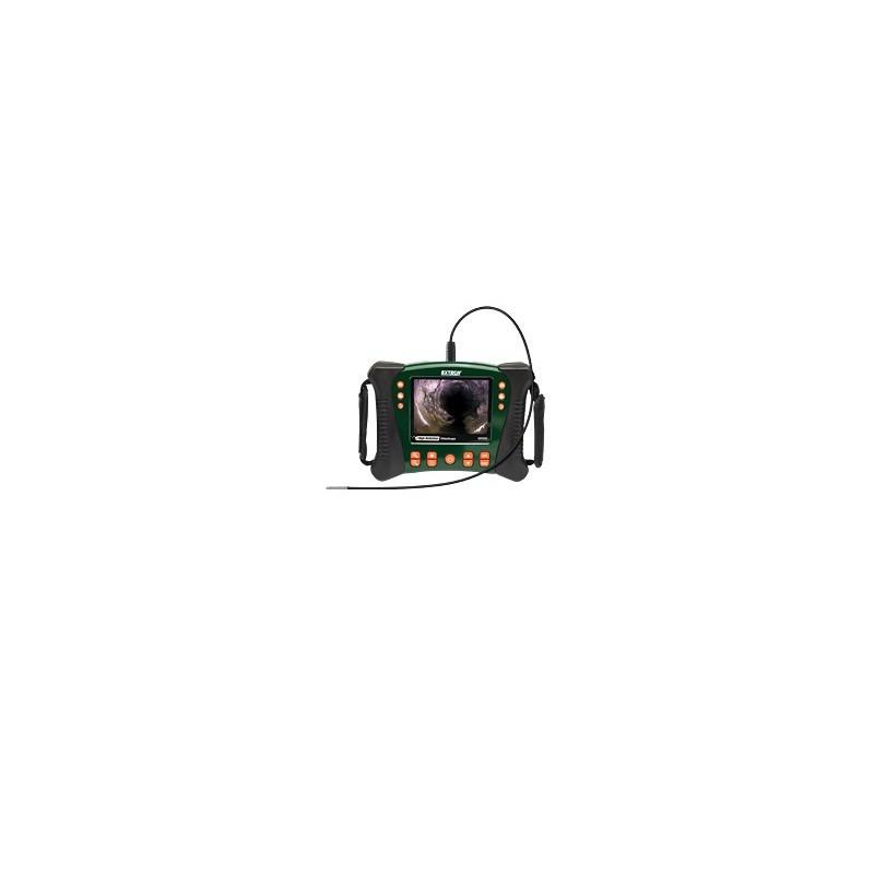 cam ra d 39 inspection endoscopique endoscope vid oscope borescope extech hdv610. Black Bedroom Furniture Sets. Home Design Ideas