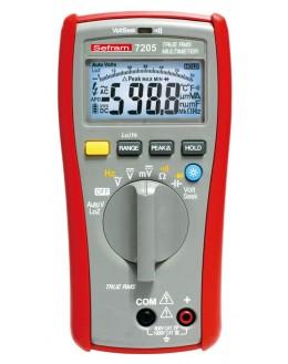 SEFRAM 7205 - Multimètre 6000 points, TRMS AC