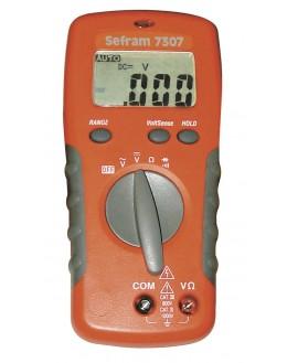 SEFRAM 7307 avec sacoche offerte - Multimètre numérique - SEFRAM