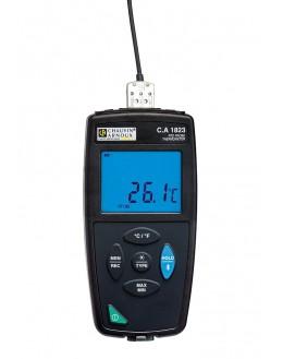 P01654823 - Thermometre de contact RDT 1 Voie PT100 pt1000 - CHAUVIN ARNOUX