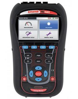 MW9683 -Analyseur de puissance et de qualité d'énergie 3U/4I, écran couleur, USB - SEFRAM