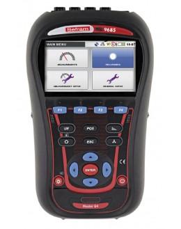 MW9685 -Analyseur de puissance et de qualité d'énergie 3U/4I, écran couleur - SEFRAM
