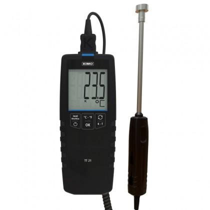 TT21 Thermomètre numérique de contact KIMO - 25520 - remplace TKA et TK1