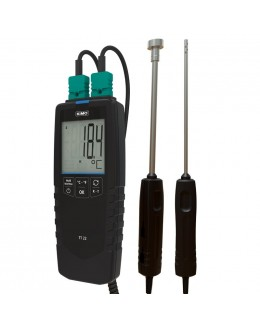 TT22 Thermomètre numérique 2 Voies de contact KIMO - 25523 - remplace TKB et TK2