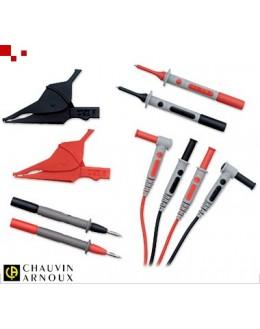 P01295459Z - Kit accessoires de test pour multimètres - CHAUVIN ARNOUX